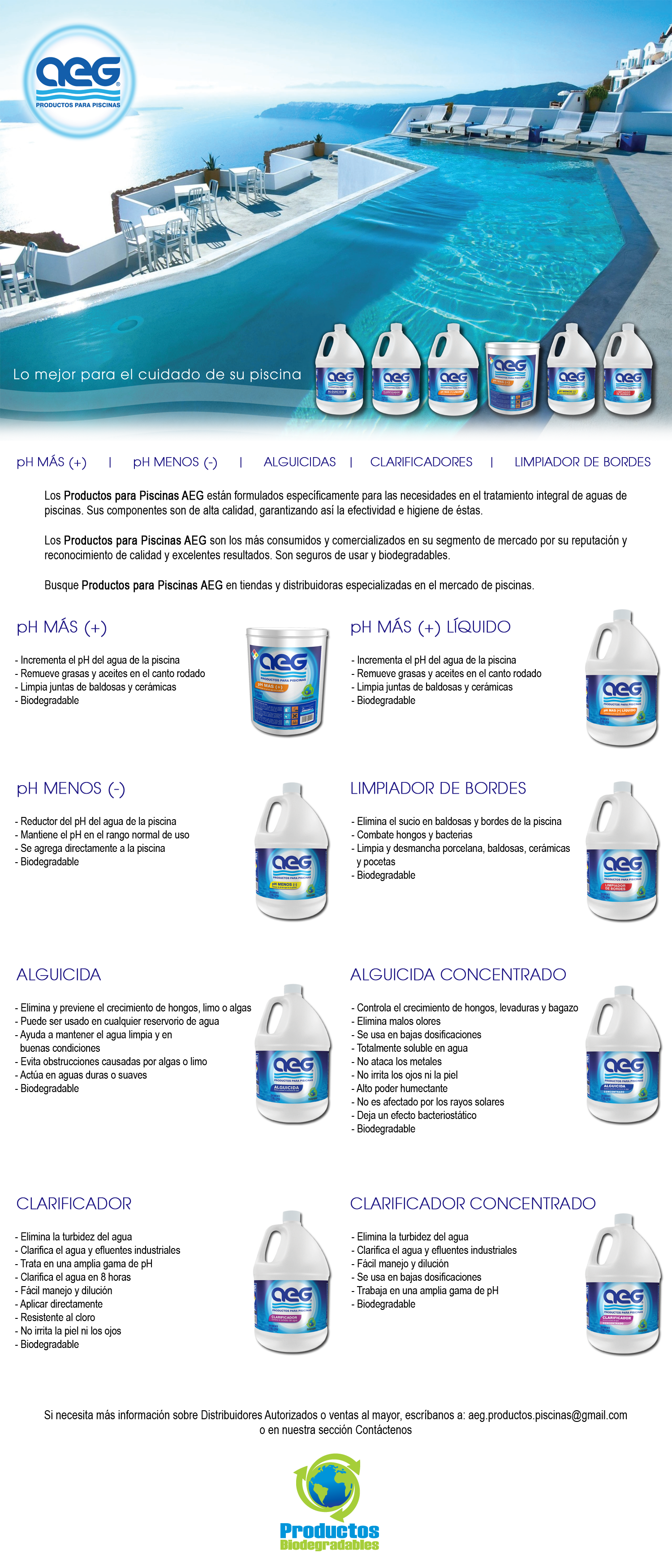 AEG Productos para Piscinas
